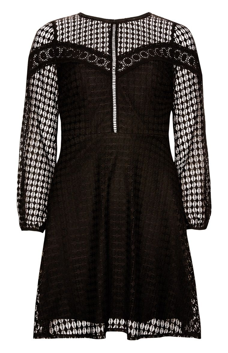 black lattice lace dress | lace dress, dresses, clothes