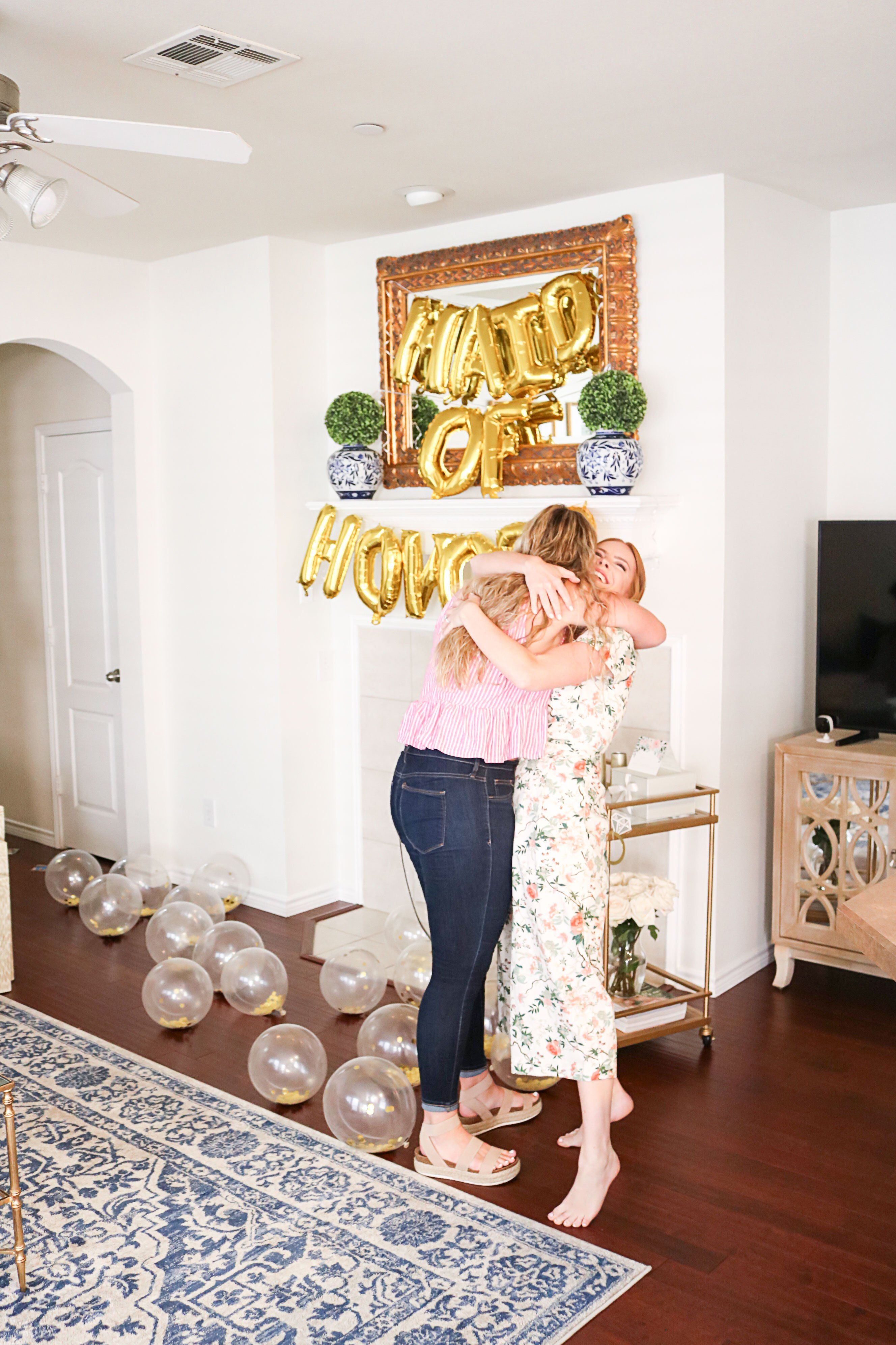 How i asked my maid of honor maid of honor surprises