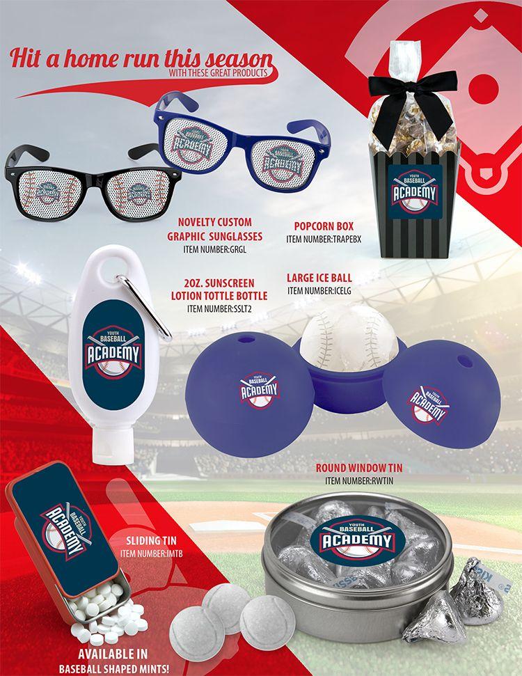 Novelties From Webb Company Baseball Promotion Hit Home