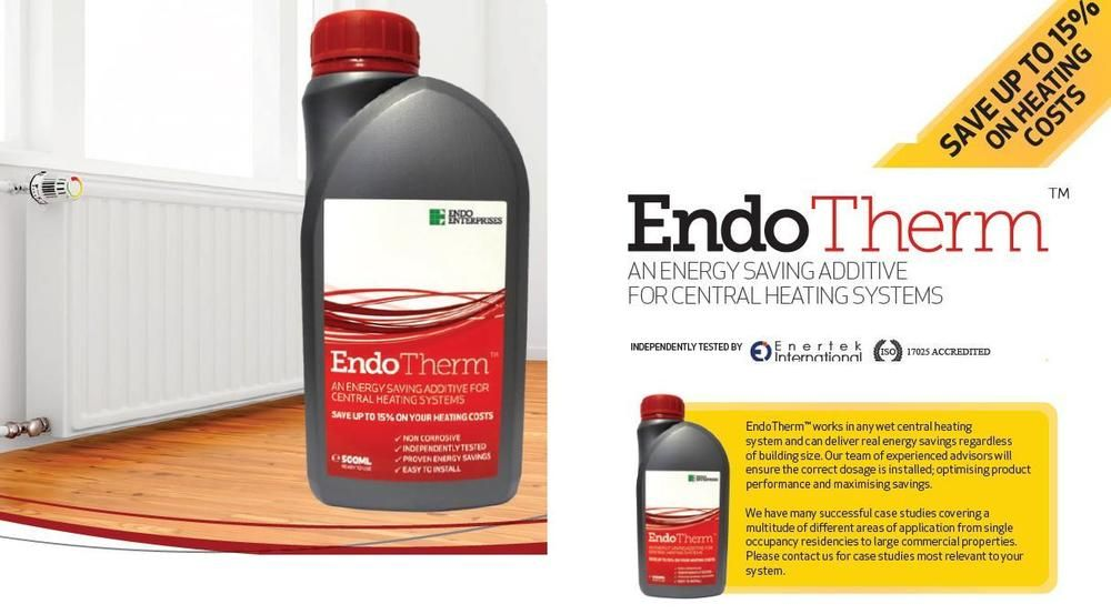 Endotherm The Award Winning Central Heating Additive Save Up To