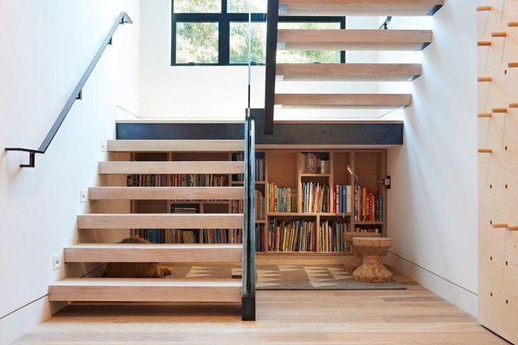 15 Design Ideas Area Under Stairs für ein minimalistisches Zuhause