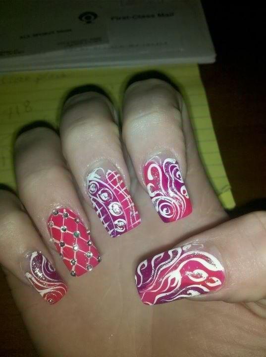diamond nails wassup
