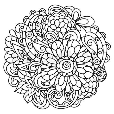 Postcard Colouring Book Designs From Nature