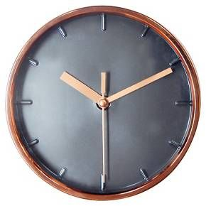 Wall Clock Copper 6 Threshold Wall Clock Copper Wall Clock Clock