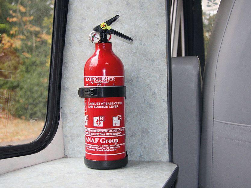Practical Caravan's caravan restoration advice – fire extinguisher | Caravan, Extinguisher, Restoration
