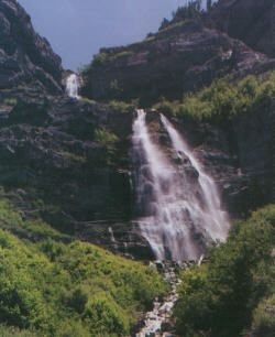Provo Canyon's Bridal Veil Falls bike ride