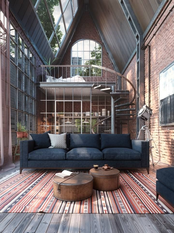 loft warehouseloft living pinterest interieur huis interieur and huis ideen