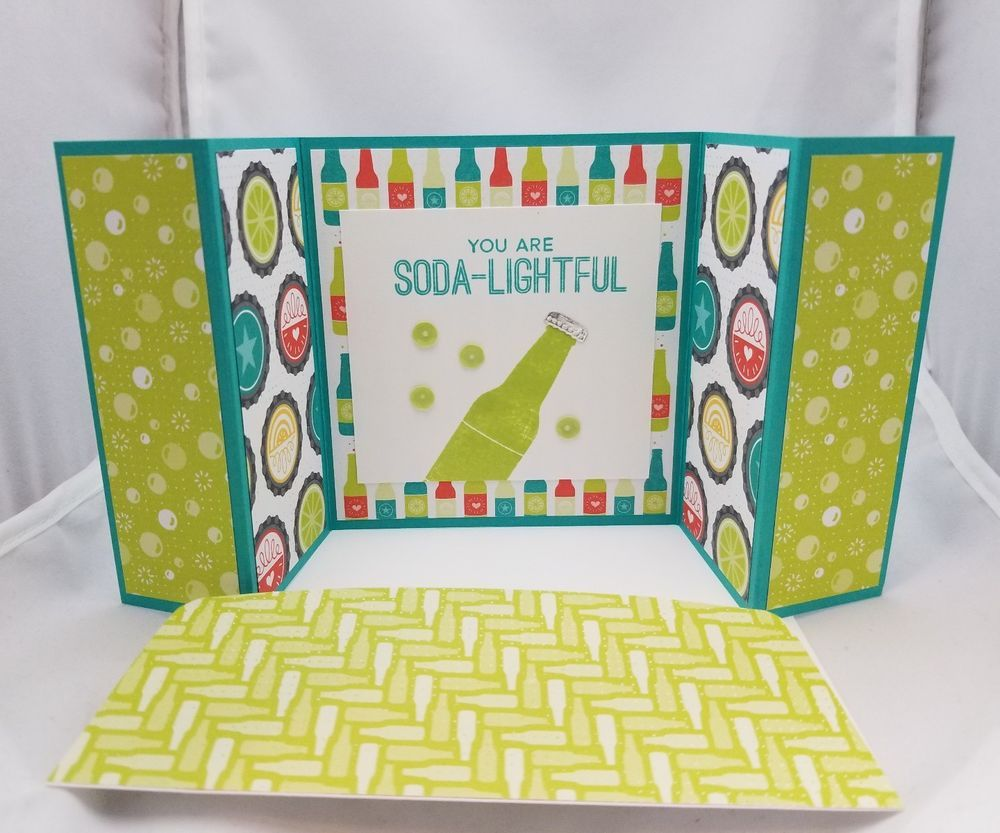 Lot of 6 fun you are sodalightful cards made wstampin