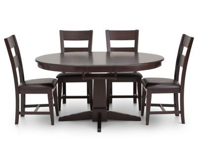 Montego Butterfly Leaf 48 60 Furniture Row 4 Chairs 895 Dining Room