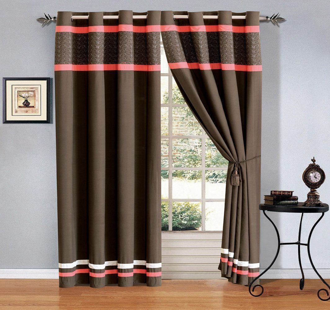 wide velvet headings inch drapes whitney grommet brown solid blackout curtains extra