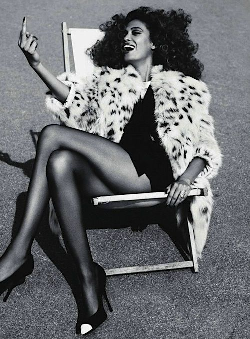 Vogue Paris 2011 | Joan Smalls | Josh Olins