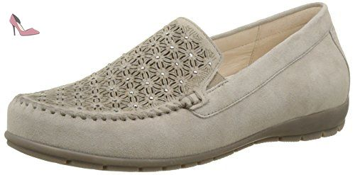 Gabor Shoes Comfort, Ballerines Femme, Blanc (Ice 60), 43 EU