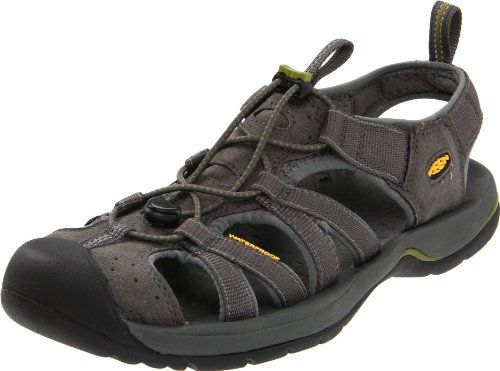 Keen Men`s Kanyon Water Shoe,Dark Shadow/Woodbine,8 M US