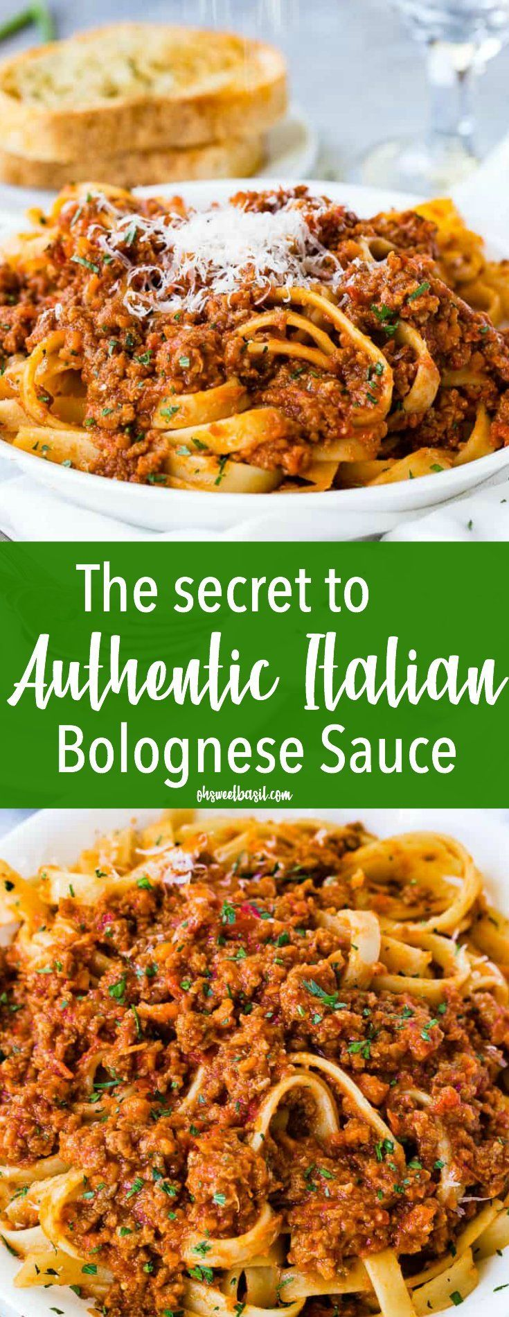 Photo of Authentic Italian Bolognese Sauce Recipe (+ Video) – Oh Sweet Basil