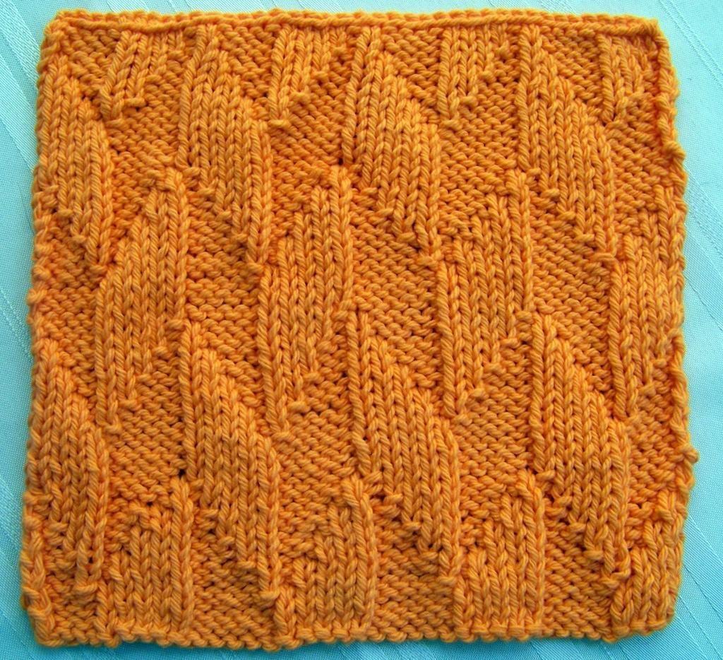Kitchen Dishcloth ~ Alternating Diagonal | Patterns
