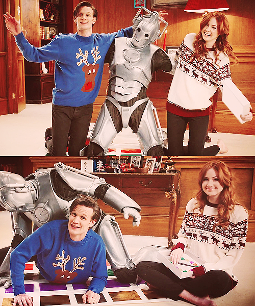 Matt and Karen being themselves = Twister with a Cyberman.