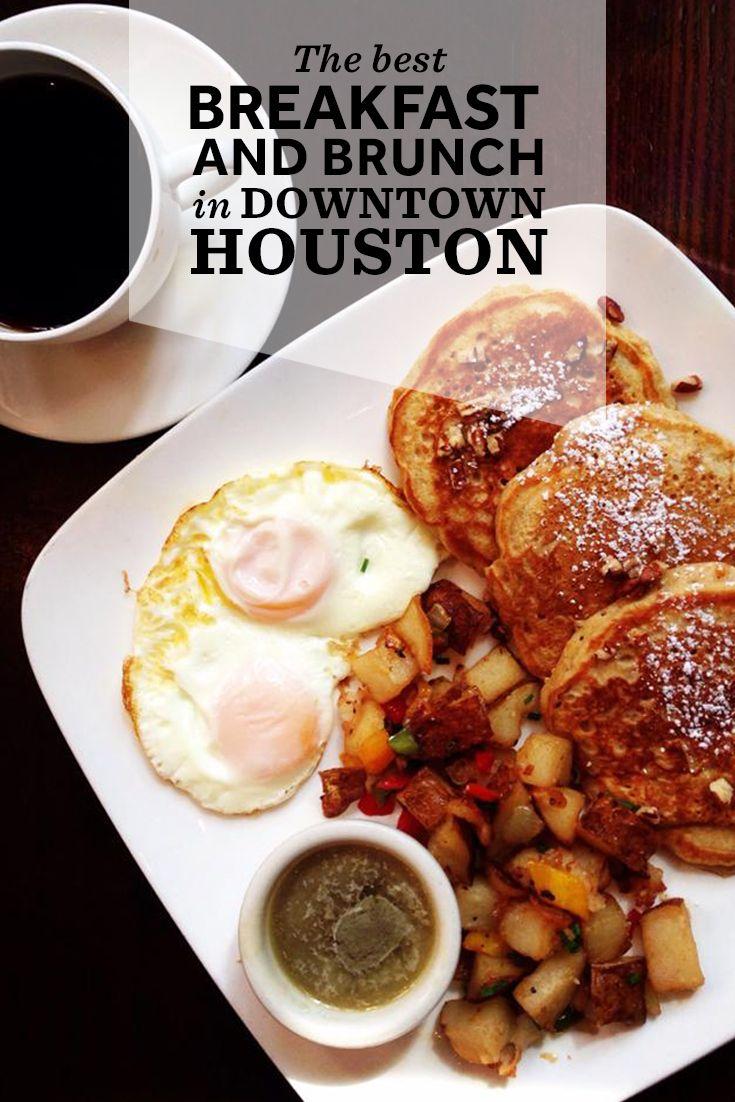 Best Breakfast And Brunch Spots In Downtown Houston