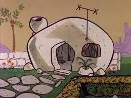 Original Flintstone House Before The Remodel Flintstones