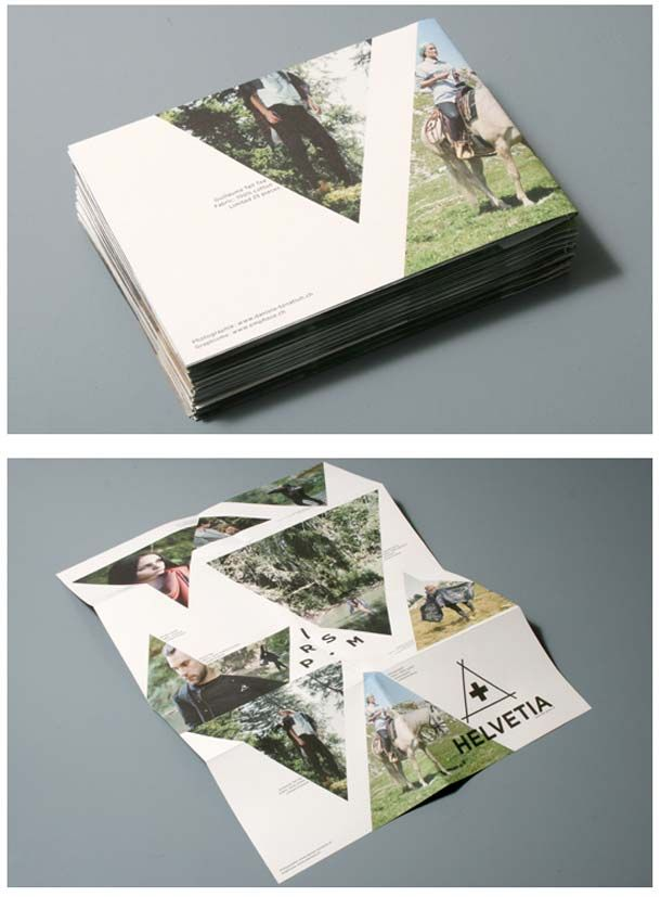 14 Ultra-Modern Brochure Examples - 4 Design Research - modern brochure design