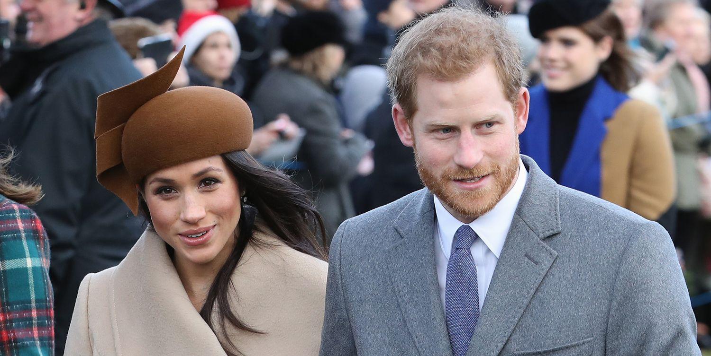 Meghan Markle Joins Prince Harry for a Royal Christmas 2017