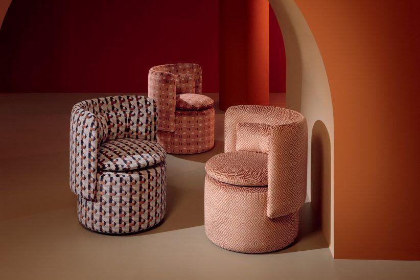 Kirkby Design Creates Fabrics Based On London Underground Seats In