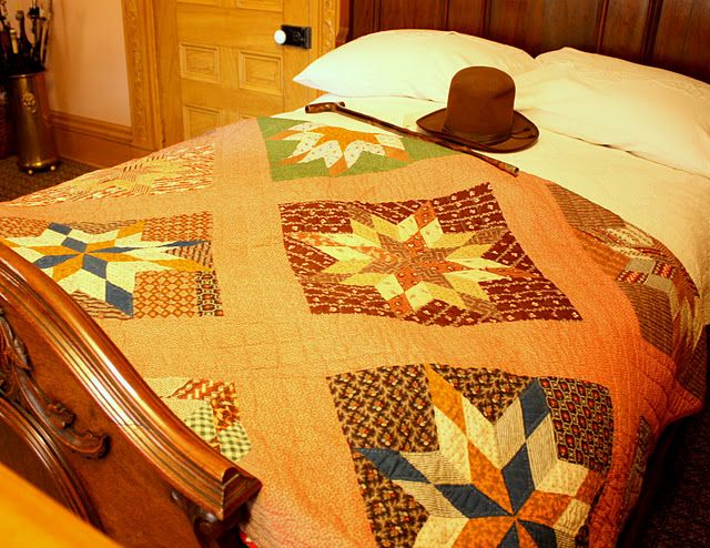 antique lone star quilt