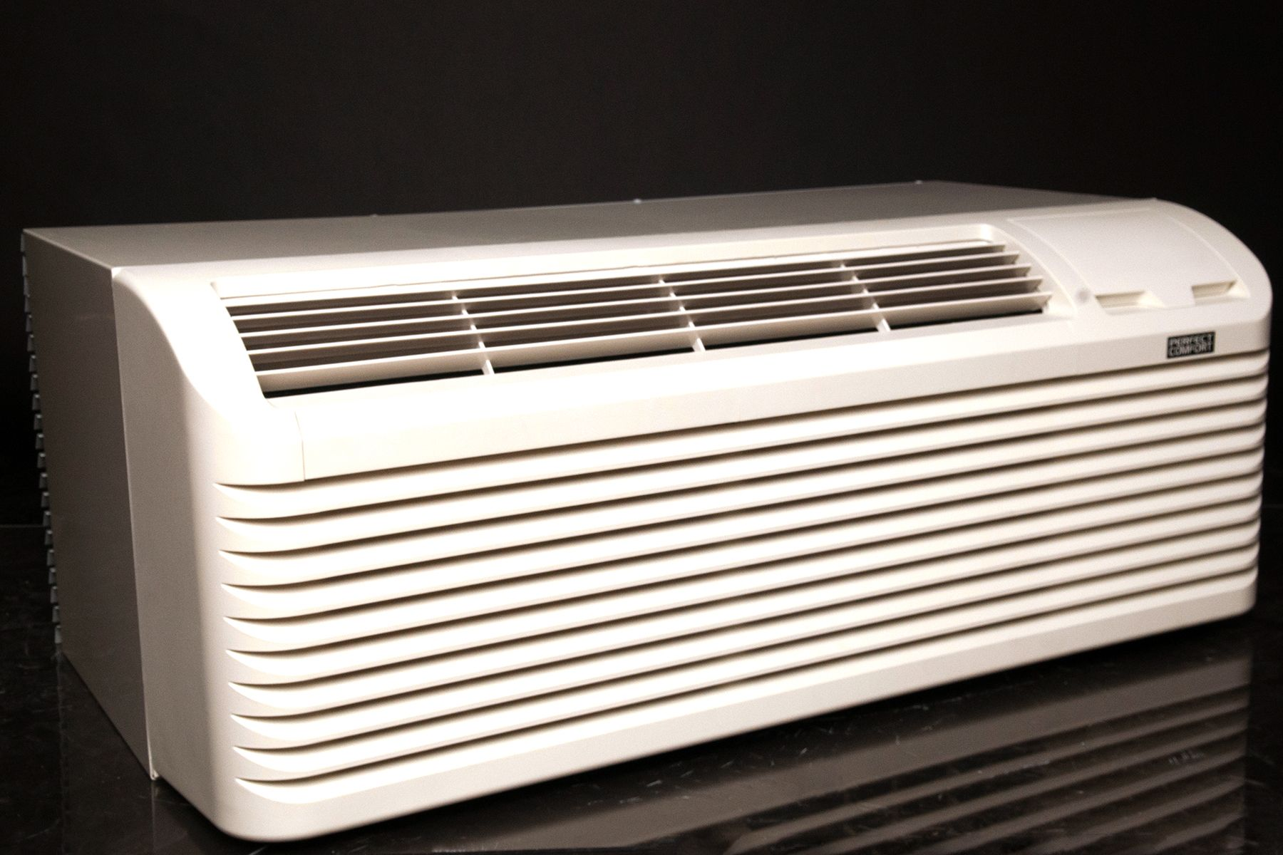 •Two fans one indoor fan and outdoor. This allows the
