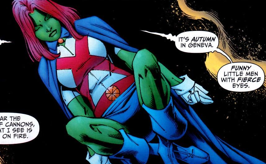 Miss Martian   DC · Miss Martian   Pinterest