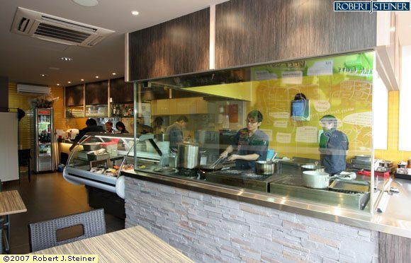 Restaurant with open kitchen google search restaurants for Kitchen design concepts