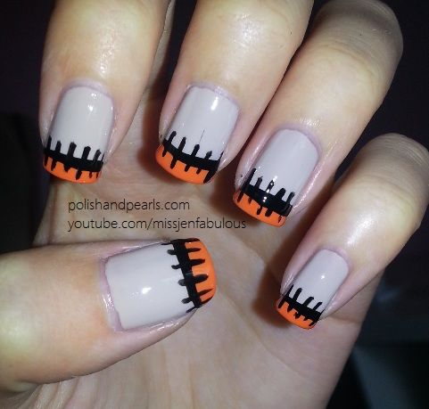 23 Easy Creative And Funny Nail Art Ideas For Halloween Nails
