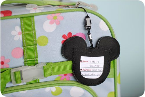 Get Away Today Vacations - Official Site - DIY Mickey Mouse Luggage Tags Tutorial