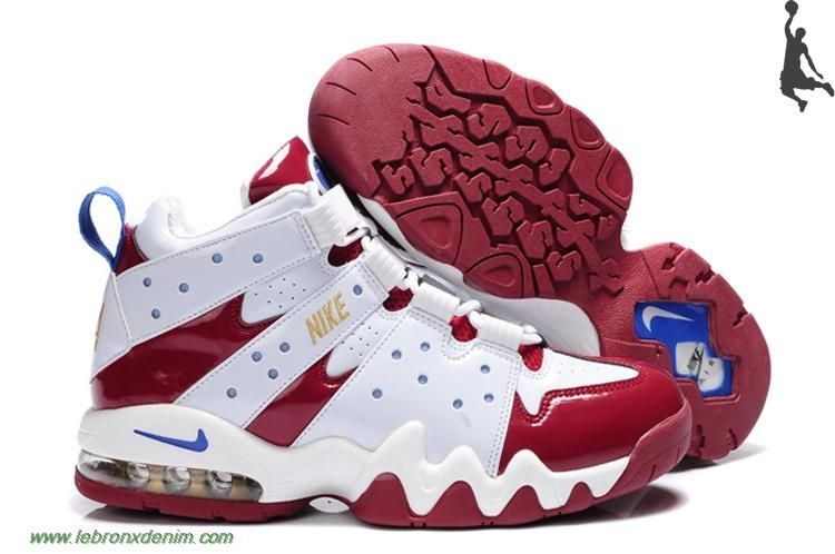 charles barkley shoes | Charles Barkley Shoes - Nike Air Max2 CB 94 White  Red Sale