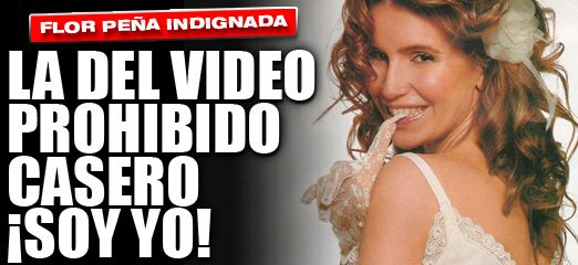 LA DEL VIDEO PROHIBIDO CASERO ¡SOY YO!  http://elsensacional.infonews.com/nota/11649-la-del-video-prohibido-casero-soy-yo-la-indignacion-de-florencia-pena/