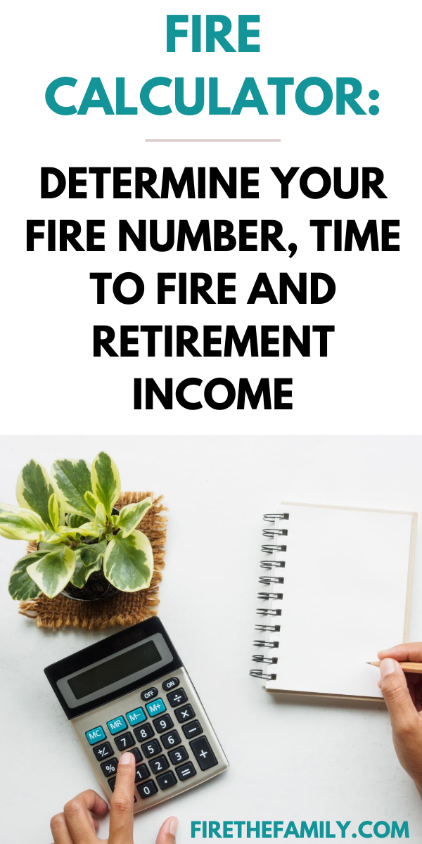 Determine Your Fire Number Time To Fire And Retirement Income Financial Independence Retire Early Financial Health Retirement Income