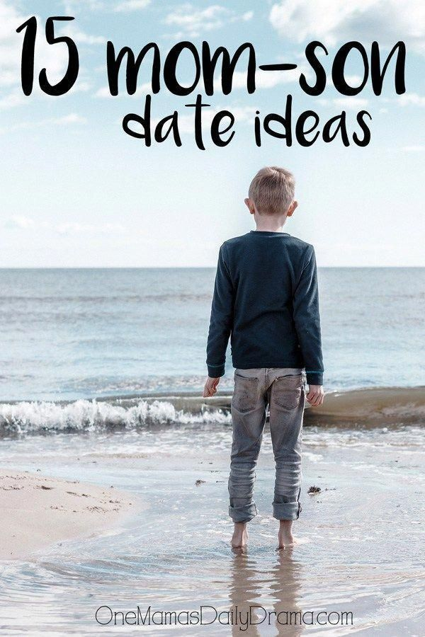 15 mom-son date idea | OneMamasDailyDrama.com --- This is a great list of things to do as a parent and child. Fun ideas for spending time together on Mother's Day or any day. #★parenting★