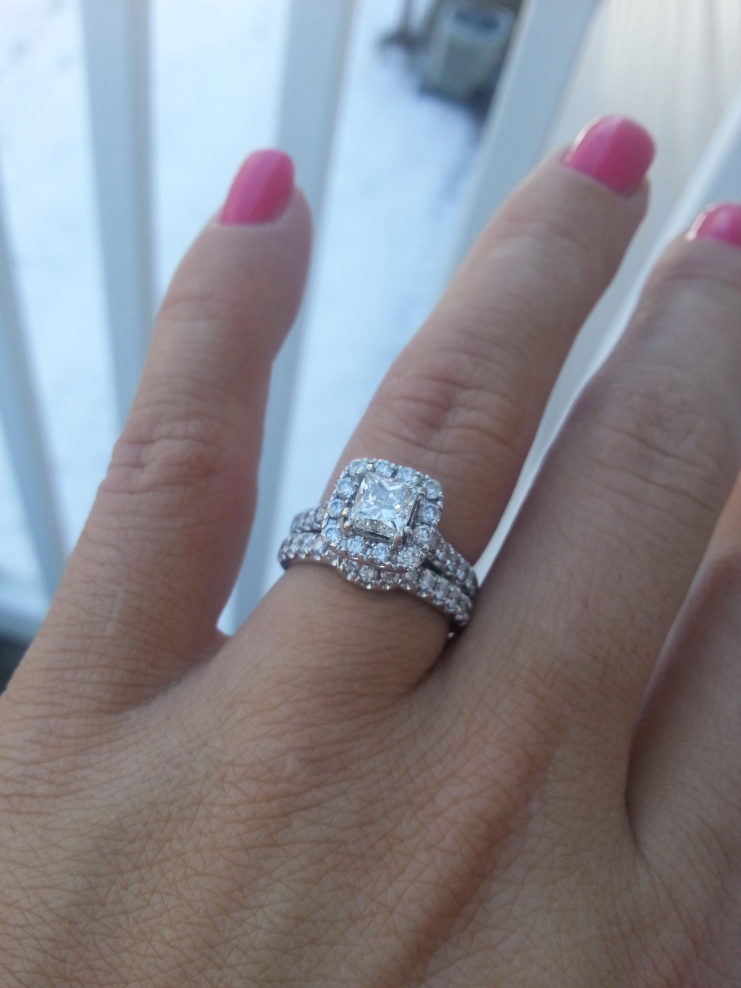 the princess cut is the second most popular cut shape for diamonds