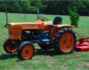 kubota l185 tractor workshop repair service manual miniature rh pinterest com Kubota Tractor Parts Diagrams Kubota Garden Tractors