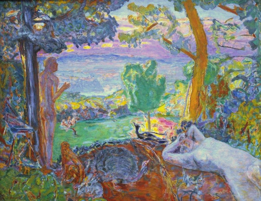 Pierre Bonnard, Earthly Paradise, 1920