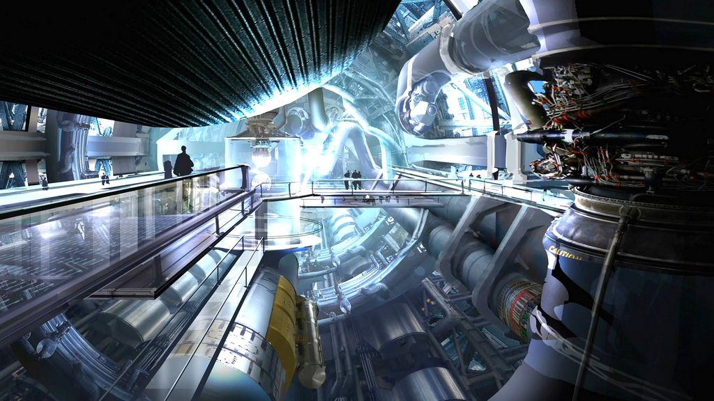 Spaceship Engine Room Google Search Scifi Interiors