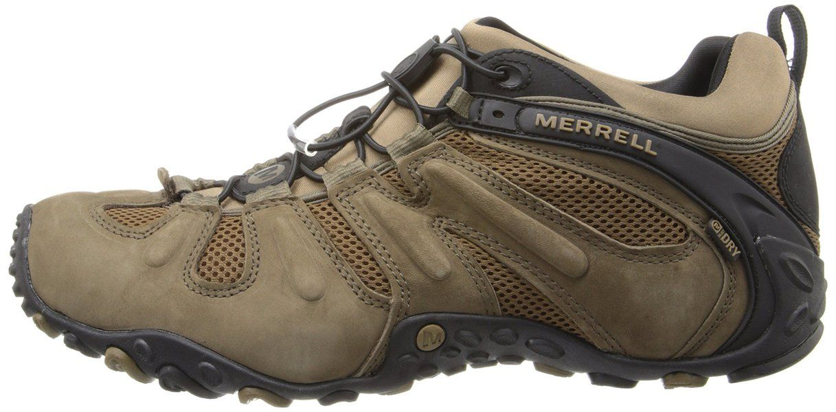 Merrell Men's Chameleon Prime Stretch Waterproof Hiking Shoe,Canteen/Brown,7 M US