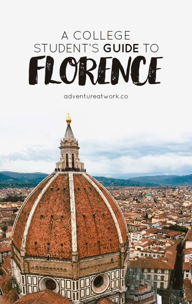 Florence Is A Phenomenal City Especially For The History And Art Lovers Out There As It Played A Study Abroad Italy Student Guide Florence Italy Study Abroad