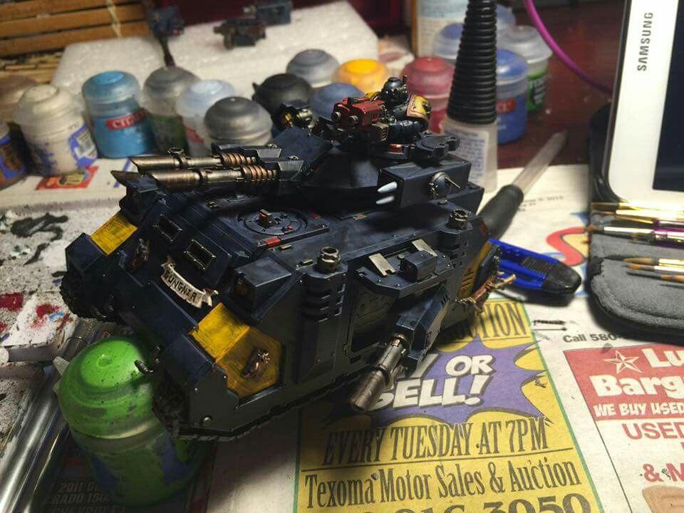Warhammer 40k space marines