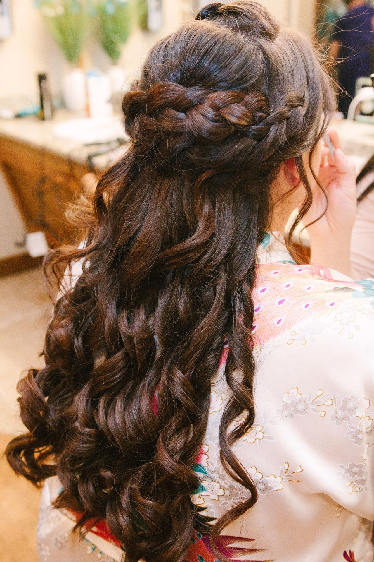 Half up half down wedding hair ideas half up wedding hairstyles