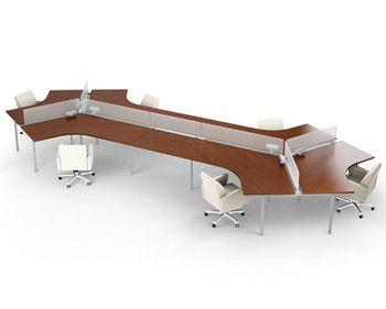 AGATI Furniture   Manifest Desking System