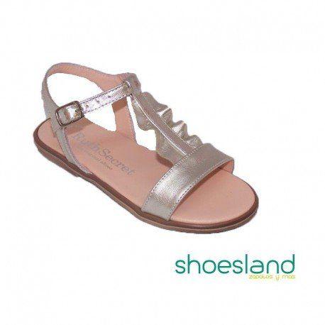 dc0437b8047 Inspiración en la Naturaleza de estas sandalias de Ruth Shoes para tu niña  de piel color