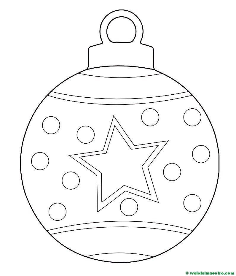 Bola de navidad-2   primary lds   Pinterest   bolas de Navidad ...