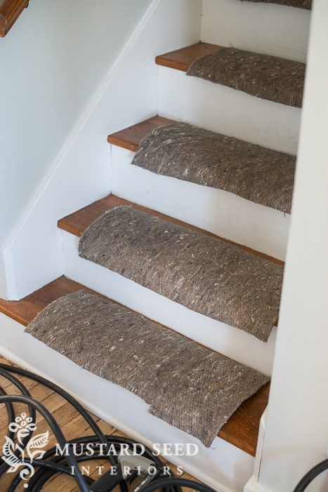 Installing A Stair Runner   Miss Mustard Seed