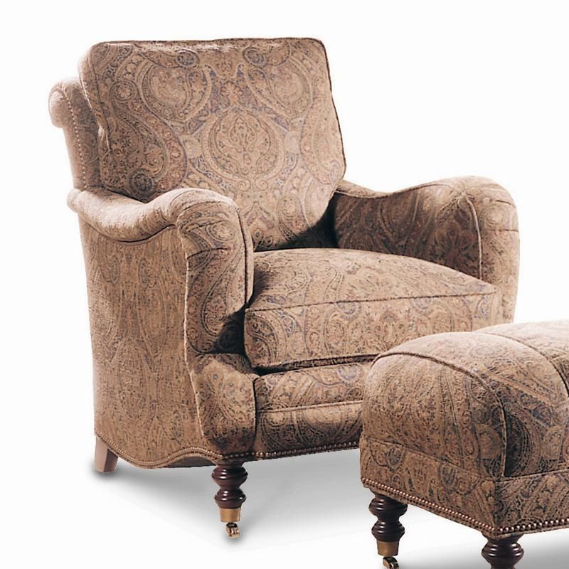 Casual Semi Attached Back Lounge Chair With Casters By