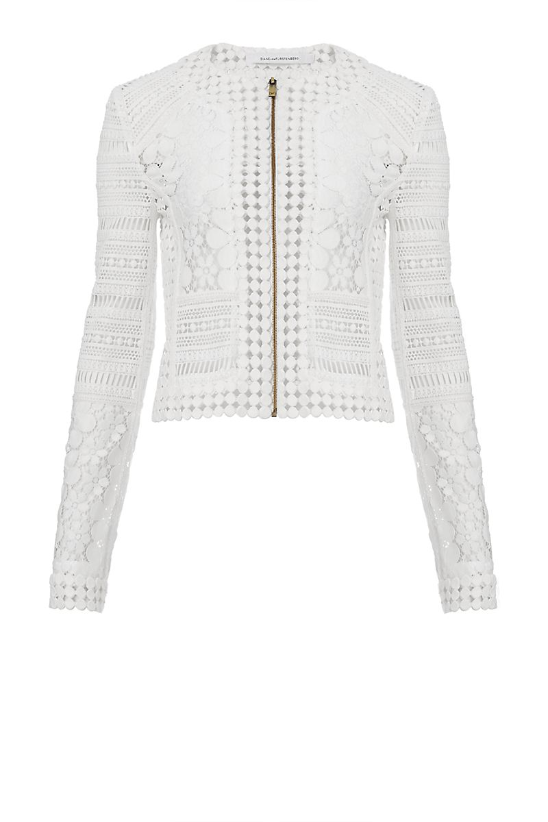 DVF Arlette Lace Jacket