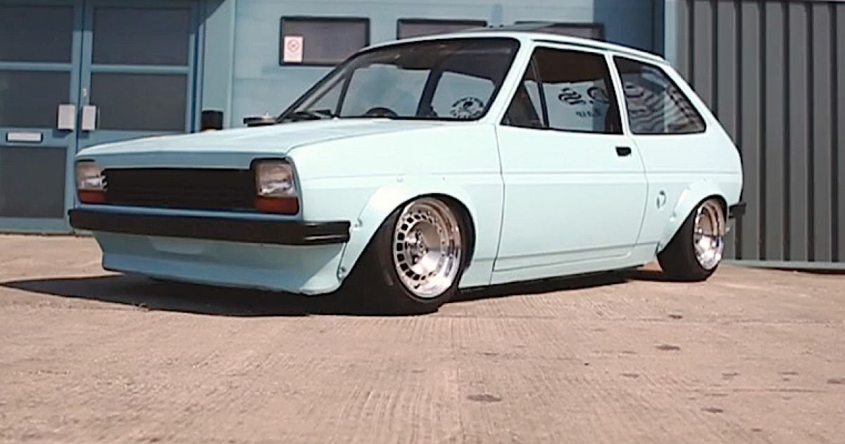ford fiesta mk1 lowered slammed stance ford fiesta mk1 my first car back in the day. Black Bedroom Furniture Sets. Home Design Ideas